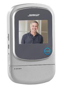 Somikon Digitaler HD Tuerspion mit Klingel VTK 400