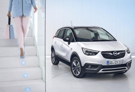 """Stylish für die City, lässig wie ein SUV: Der neue Opel Crossland X feiert am 1. Februar im """"Kraftwerk"""" Berlin Premiere"""