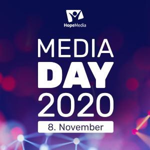 Logo des Medientages © Foto: Hope Media Europe