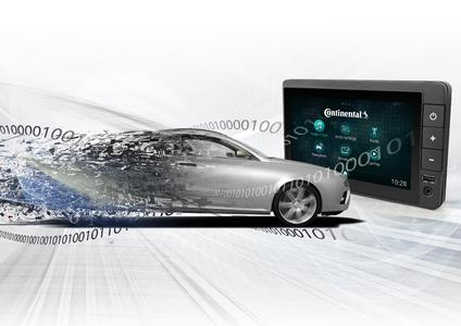 Reducing hardware to a minimum: Continental's new radio platform sets standards for vehicle infotainment / Continental Reifen Deutschland GmbH