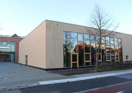 Das Gebäude der neuen Mensa am Campus Lingen. Foto: Ralf  Garten