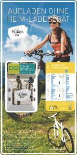bike-energy Ladestation POINT P4B + Rückwandplatte (SalzburgerLand)