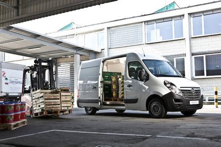 Jede Menge Platz: Der Opel Movano verfügt über ein Ladevolumen von bis zu 17 Kubikmeter. Foto: Adam Opel AG