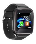 simvalley MOBILE 2in1-Handy-Uhr PW-455 & Smartwatch für Android, Touch-Display, Bluetooth, App