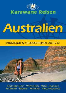 Australien Reisen 2011 Katalog Karawane Reisen