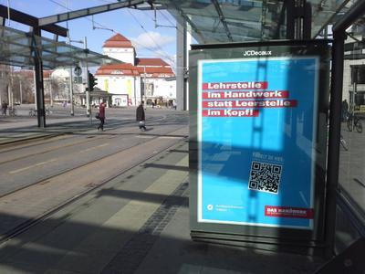 Plakat Nachwuchswerbung DD, Quelle: Handwerkskammer Dresden