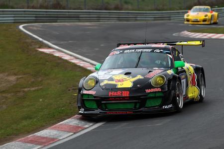 Thomas Gottschalk drückt HARIBO RACING TEAM am Nürburgring die Daumen