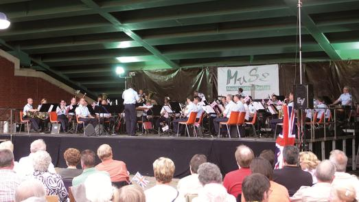 Bundespoloizei Orchester Hannover, Foto Region Hannover Archiv