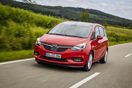Top-vernetzte Lounge auf Rädern: Ab dem 24. September kann der neue Opel Zafira beim Opel-Händler vor Ort in Augenschein genommen werden