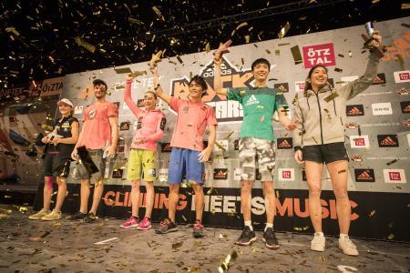 Neben dem Titel adidas ROCKSTAR können die Kletterer beim Saisonfinale in Stuttgart insgesamt 20.000 EUR Preisgeld gewinnen
