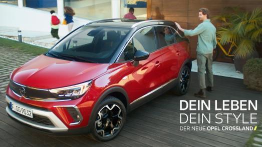 Opel Crossland Stars in New International TV Campaign