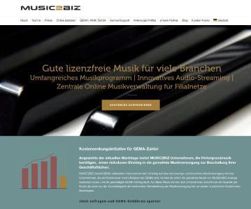 MUSIC2BIZ-Startseite: Kontakt Kostensenkung für Fitnessstudios