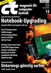 Das Titelbild der aktuellen c't-Ausgabe 14/2008