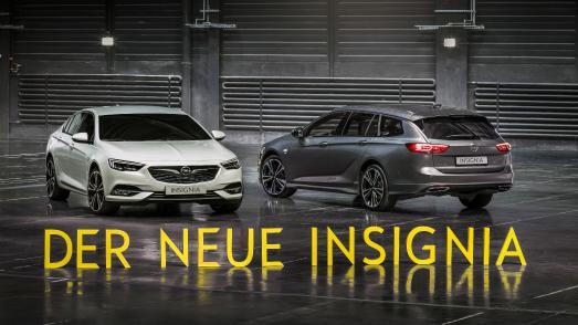 Startschuss zur Produktion des Opel-Flaggschiffes: Neuer Insignia Grand Sport und Sports Tourer (rechts)