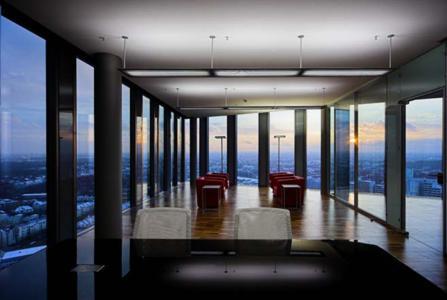 Prämierte Innenaufnahmen der HighLight Towers von Rainer Viertlböck