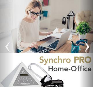 Die brainLight GmbH bringt den Synchro PRO Home-Office für mehr Motivation bei der Arbeit zu Hause auf den Markt