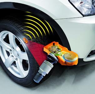 Ein Reifendruckkontrollsystem trägt nachweislich zur Fahrsicherheit bei, da gefährliche Luftdruckverluste sofort bemerkt werden. Foto: Huf