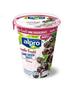 Soja-Joghurtalternativen mit mehr Frucht und ohne Zuckerzusatz Kitsch
