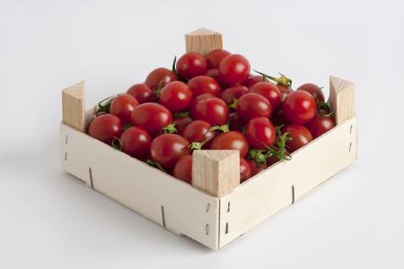 Obst und Gemüse – wie hier an den Beispielen Erdbeeren und Tomaten zu sehen – gedeihen im Mikroklima der Holzsteigen besonders gut. (Foto: GROW)