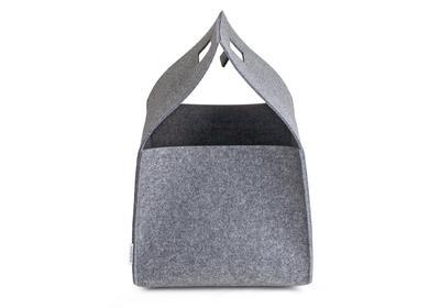 wenn das kaminholz leise knistert greybax formsch ne filzboxen f r das feuerholz cleven. Black Bedroom Furniture Sets. Home Design Ideas