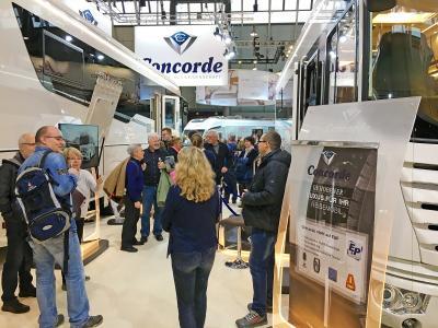 Concorde freut sich auf die CMT 2019