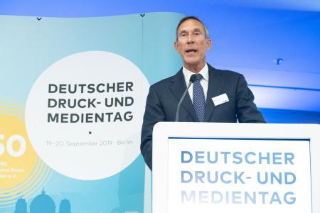 Cees Verweij, Präsident europäischer Dachverband Intergraf / Fotograf: Hans-Christian Plambeck