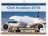 Der Flugzeugkalender Civil Aviation 2018