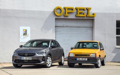IAA-Premiere: Neuer Opel Corsa trifft auf seltenen Corsa GT