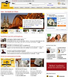 Relaunch von meinestadt.de sorgt für mehr Übersicht, Dynamik und Lokalität