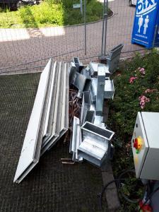Schrottrecycling mithilfe von Schrotthändler & Schrottabholung im Ruhrpott
