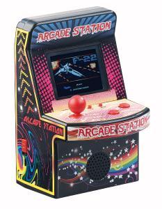 NC 7459 01 MGT Mobile Games Technology Handlicher Retro Videogame Automat mit 200 Spielen