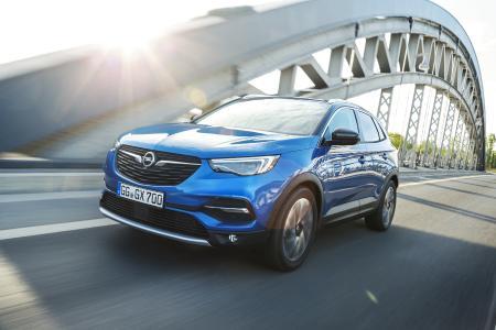 Einsteigen und losfahren: Ab Samstag, 21. Oktober, steht der neue Opel Grandland X bei den Opel-Partnern zur Probefahrt bereit