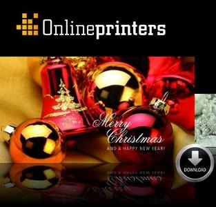 Xmas greetings from onlineprinters.com