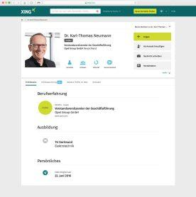 Der digitale CEO: Dr. Karl-Thomas Neumann erreicht jetzt zehn Millionen Nutzer des deutschsprachigen Netzwerks XING