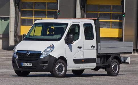 Opel mit moderner Modellpalette auf der IAA Nutzfahrzeuge 2012