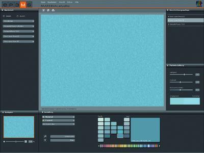 SPECTRUM 4.0 MATERIALstudio - Die digitale Werkstatt: Erstellen eigener Musterkombinationen mit unterschiedlichen Materialien und Beschichtungsaufbauten zur Gestaltung im PHOTOstudio