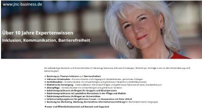 Judit Nothdurft Consulting (JNC) relauncht Website - übersichtliches, responsives Design
