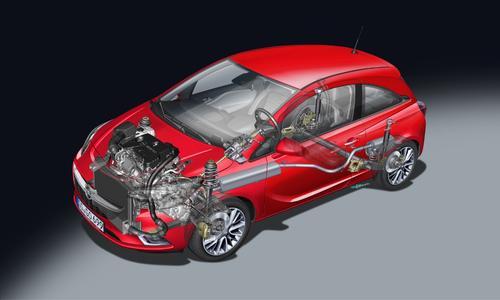 Topmoderner Dreizylinder: Der 1.0 Turbo mit Benzindirekteinspritzung ist ein Vollaluminiummotor und treibt die Modelle Opel ADAM, Corsa (Foto) und Astra an / Foto: Adam Opel AG