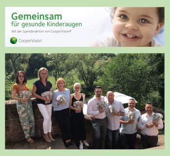 Gemeinsam für gesunde Kinderaugen - Mit der Spendenaktion von CooperVision®