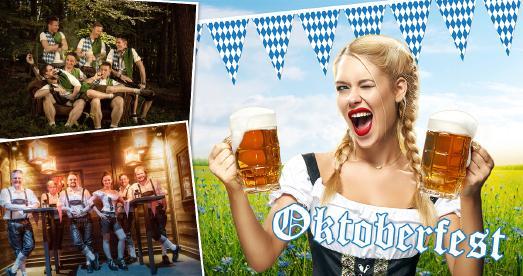 Oktoberfest an den Samstagen des 7. und 14. Oktober im Wunderland Kalkar