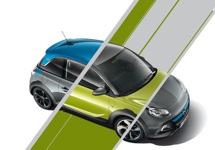 Kennt keine Grenzen: Der freche Opel ADAM ROCKS lässt sich jetzt frei konfigurieren und so noch individueller gestalten