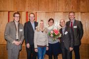 v.l.n.r.: Dr. Johannes Middelanis, Dr. Carsten Böing, Dörte Freisburger, Petera Schwaiger, Prof. Dr. Längler, Dr. Katzwinkel