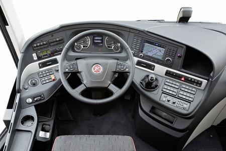 Das ergonomische optimierte Cockpit