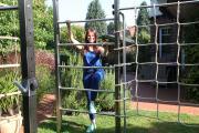 TOLYMP Cross All Anlage in einem Privatgarten