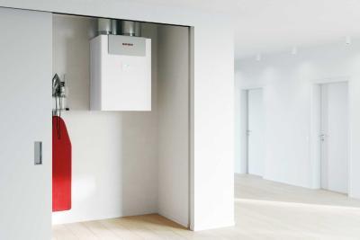 Gute Luft garantiert: beispielsweise mit dem zentralen Lüftungsgerät LWZ 180/280 von Stiebel Eltron