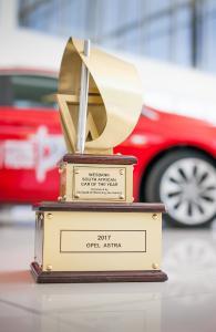 """Erfolg in Südafrika: Der Opel Astra holt seinen 13. nationalen Titel als """"Auto des Jahres"""""""