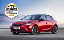 "Winning Way: New Opel Corsa is ""Company Car Of The Year"""