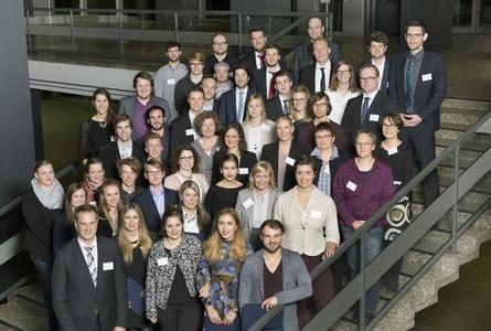 StudyUp-Awards 2015: 52 Studentinnen und Studenten wurden für ihre herausragenden Abschlussarbeiten geehrt / Foto: Katrin Schaller