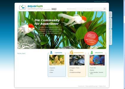 Soziales Netzwerk für Liebhaber von Zierfischen und Aquarien im Internet: www.aquarium-community.de