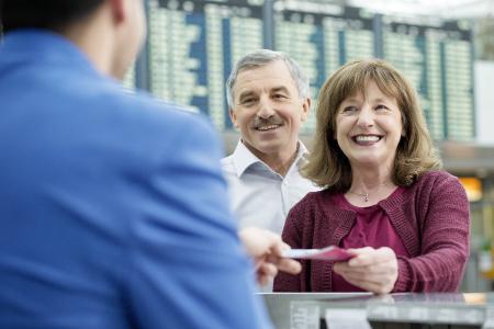 Informationsschalter im Terminal 2 (Bild: Flughafen München)